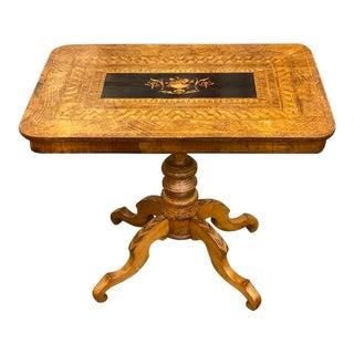 Vintage Wooden Sorento Side Table For Sale