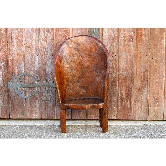 Asian Chunky Tribal Naga Chair For Sale - Image 3 of 10