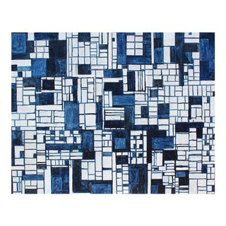 "Contemporary Abstract Original Painting on Canvas ""PDP883ct17"" by Cecil Touchon For Sale"