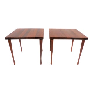 1950s Danish Modern Hans C. Andersen Side Tables - a Pair For Sale
