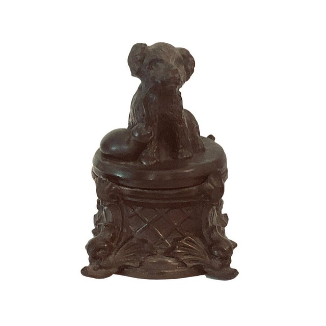 19th Century 19th Century French Inkwell With Dog For Sale - Image 5 of 8