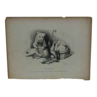 """Antique Realist Print on Paper, """"The Beggar"""" by D. Appleton & Company For Sale"""