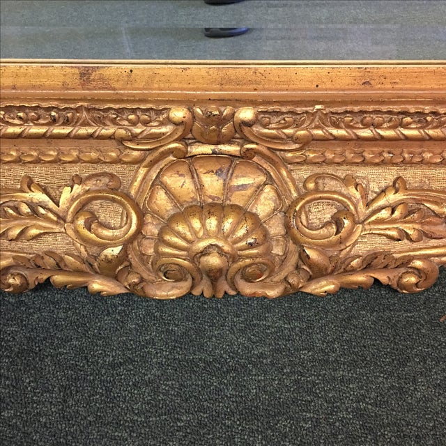 Carved Gilt Wall Mirror - Image 9 of 10