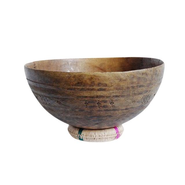 Old Tuareg Wood Bowl For Sale
