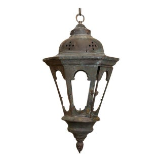 Three Copper Processional Lanterns For Sale