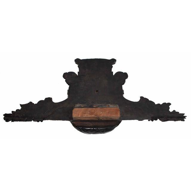 Antique Coat of Arms Pediment - Image 5 of 5