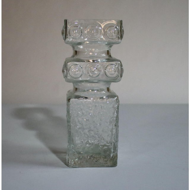 Mid-Century Art Glass Vase by Helena Tynell For Sale - Image 5 of 5