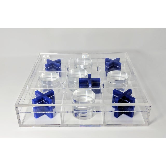Lucite Tic-Tac-Toe Game Board For Sale - Image 10 of 13