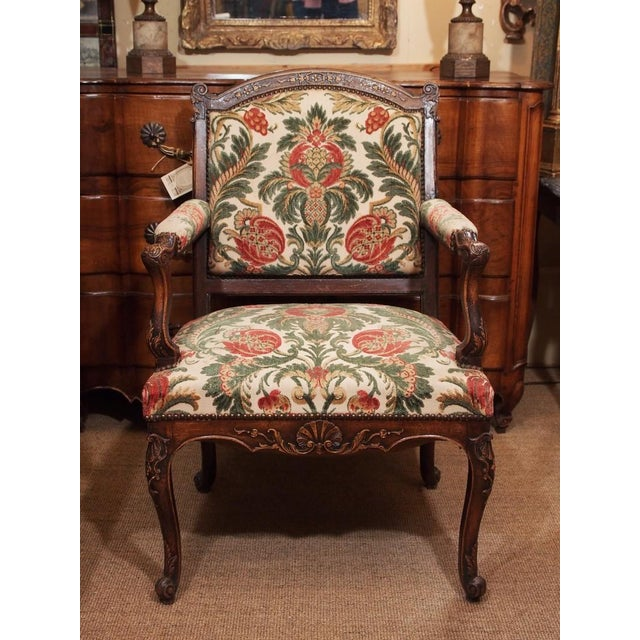 19th Century French Regence Style Fauteuil - Image 2 of 9