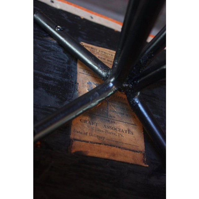 Set of Four Adrian Pearsall #11 Iron Barstools For Sale - Image 10 of 11
