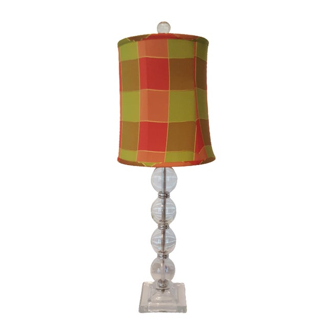 Contemporary Glass Table Lamp - Image 1 of 5