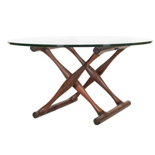 Poul Hundevad Danish Modern Rosewood Ph-42 Table For Sale