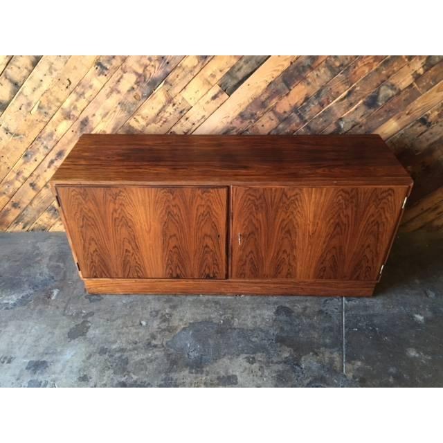 Danish Modern Rosewood Cabinet - Image 3 of 8