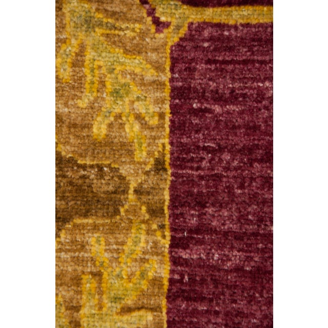 """Arts & Crafts Arts & Crafts Hand Knotted Area Rug - 9'10"""" X 13'9"""" For Sale - Image 3 of 3"""