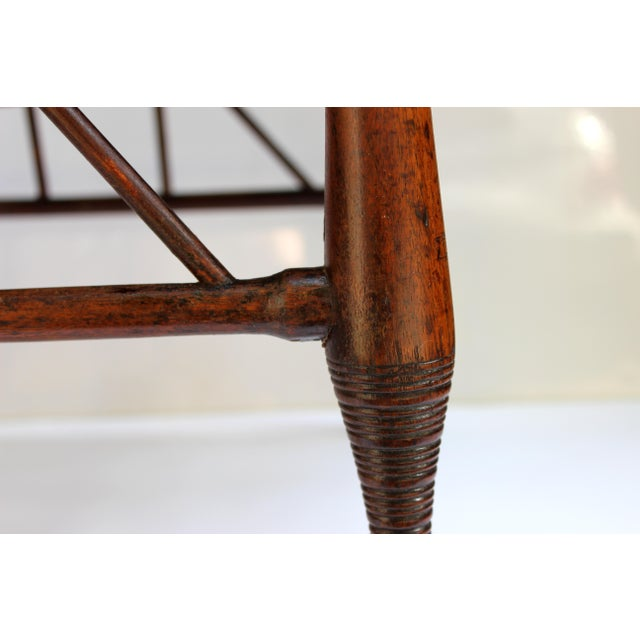 Brown Circa 1900 Liberty & Co. Antique Egyptian Revival Thebes Stool For Sale - Image 8 of 8