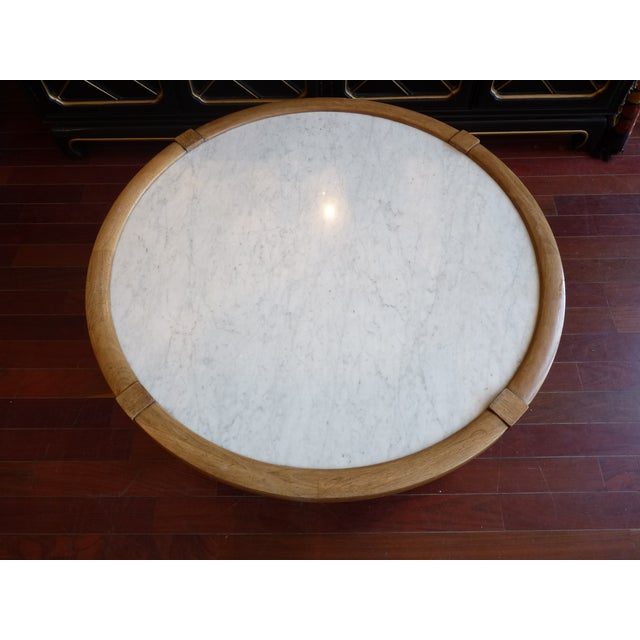 Mid Century Modern Marble Coffee Table - Image 3 of 9