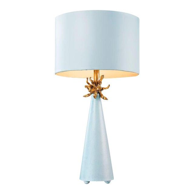 Le Ciel Blue Table Lamp For Sale