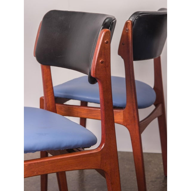 Set of 6 Erik Buck Style Teak Dining Chairs - Image 10 of 11