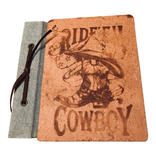 Vintage Western Snapshot Picture Album For Sale