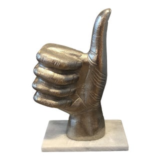 Thumbs Up Hand Figurine For Sale