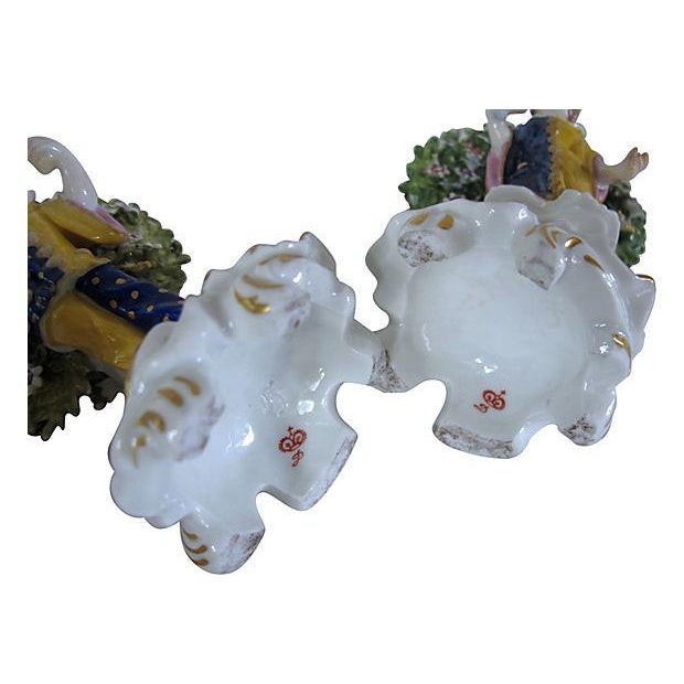 Antique English Derby Figures C. 1840 - Image 6 of 6