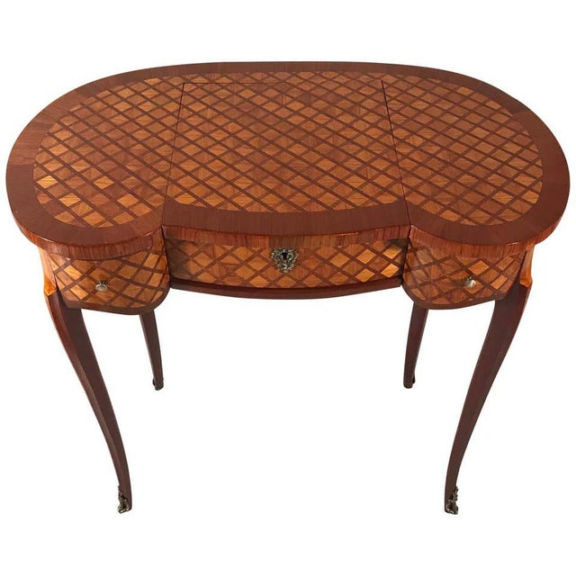 19th Century French Louis XVI Style Vanity For Sale - Image 12 of 12