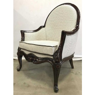 Bergere Style Armchairs - A Pair Preview