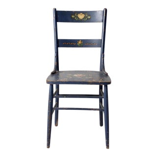 Antique Stencil Chair For Sale