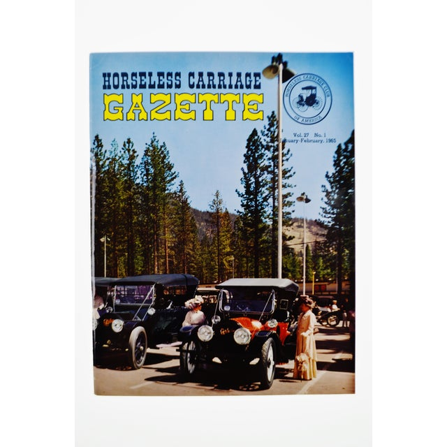 Mid-Century Modern Horseless Carriage Gazette Magazines - 1965 Full Year - Collectible For Sale - Image 3 of 10