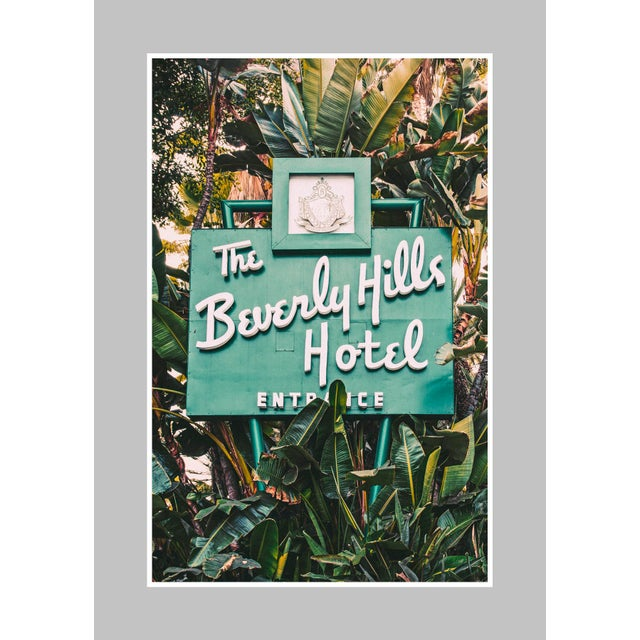 "Americana ""The Beverly Hills Hotel"" Original Framed Photograph For Sale - Image 3 of 5"