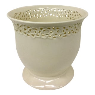 Porcelain Blanc De Chine Planter Godinger For Sale