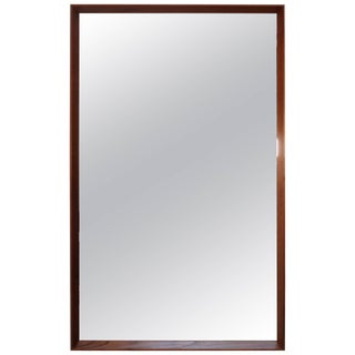 Pedersen & Hansen Teak Mirror For Sale