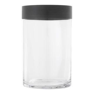 Bronze Clear Glass Hurricane   Eichholtz Vertex S For Sale