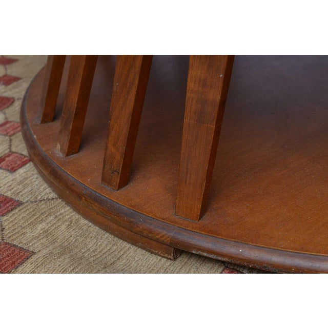 Wormley for Dunbar Style Walnut Coffee Table, 1960s, USA For Sale - Image 9 of 10