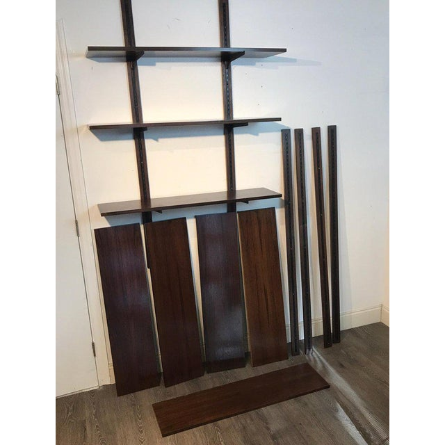 Danish Modern Rosewood Adjustable Shelves For Sale In West Palm - Image 6 of 12