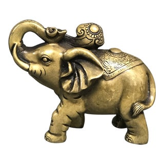 Bronze Chinese Ganesh Sculpture For Sale