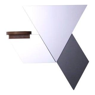 Wall Tile & Shelf Assembly - Set of 4