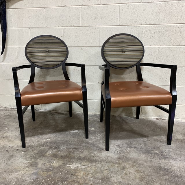 Made by Beaufurn in North Carolina, these were likely used in a commercial setting in the 80s. Very well made wood frame...