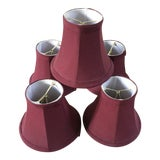 Image of Ballard Design Mini Lamp Shades - Set of 5 For Sale