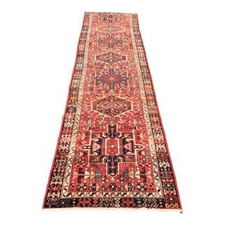 Persian Karajeh Runner - 3′ × 10′9″ For Sale