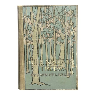 Antique Decorative Tree Identification Book For Sale