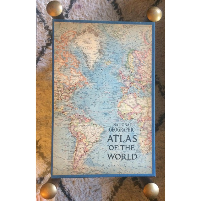 1963 National Geographic Atlas of the World First Edition Book For Sale - Image 12 of 12