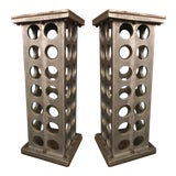 Image of Pair of Industrial Side Table For Sale