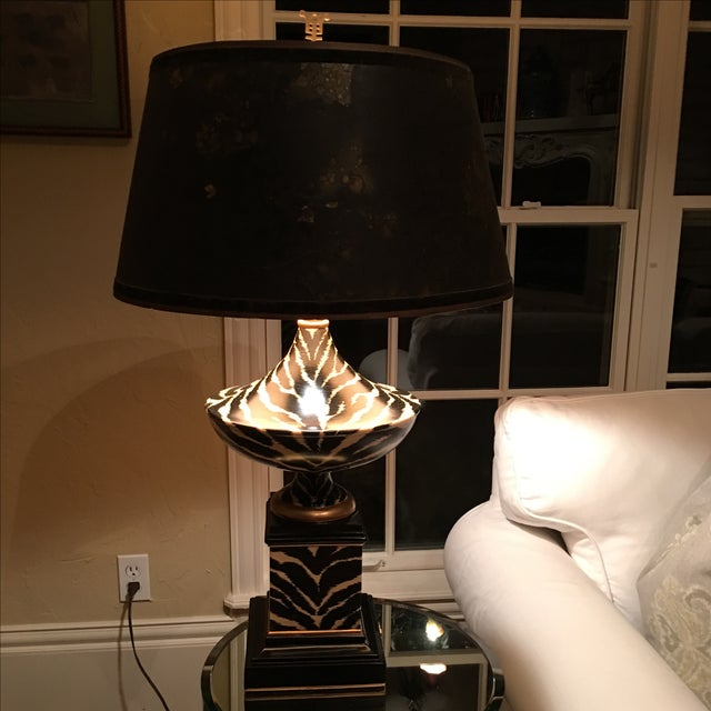 """Oriental Accent "" Lamp - Image 2 of 11"