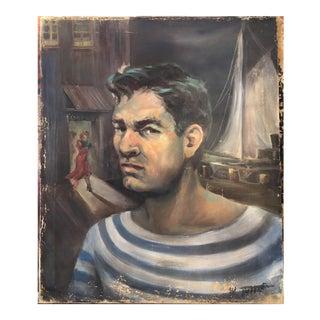 Sailor Querelle Oil Painting