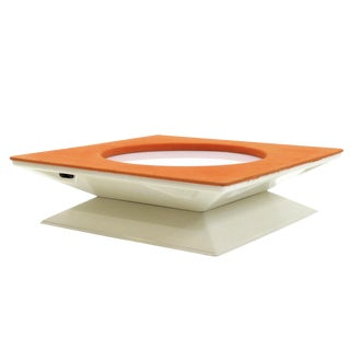 1970s Mim Roma Fiberglas Coffee Table For Sale