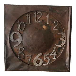 Antique French Clock Face For Sale