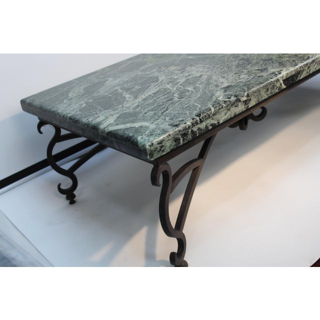 1970s Italian Marble Table For Sale - Image 5 of 10