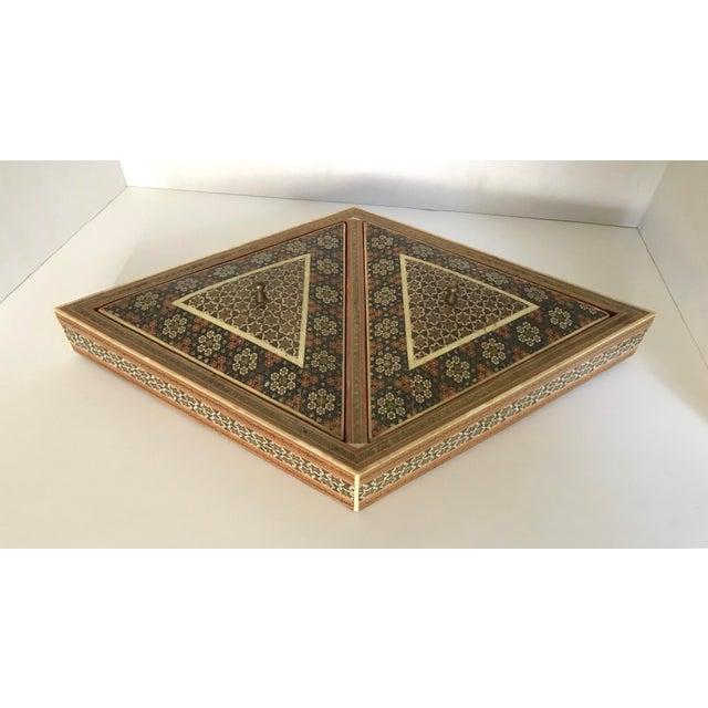Khatam Kari Double Lidded Box For Sale - Image 5 of 5