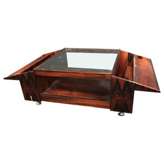 Brazilian Rosewood Coffee Table by Møbelfabrikken Sola Ganddal of Norway For Sale